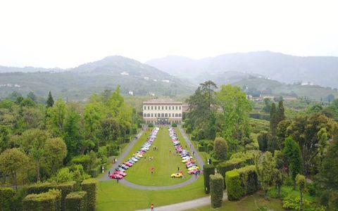 The Ferrari Cavalcade Classiche is for classic Ferraris. It ran through Tuscany, with stops in Pisa, Luca and Modena before finishing in Maranello.