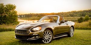 Fiat's version of the Miata offers a slightly more luxurious B-road attack experience.