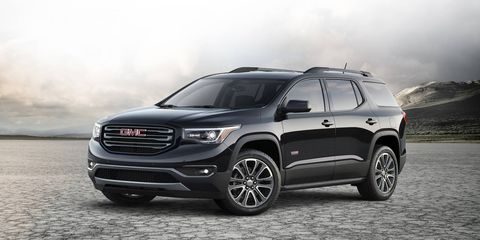 The 2017 GMC Acadia sports a new platform and a substantial weight loss.