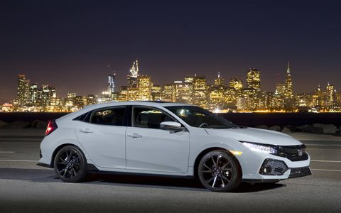 For 2017, the Honda Civic line again gains a hatchback model which, in Sport trim, offers a lot for driving enthusiasts who need inexpensive transportation.