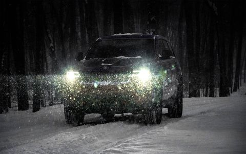 The Trailhawk version of the Grand Cherokee is optimized for off-road use, but it still retains a luxurious ride on road.