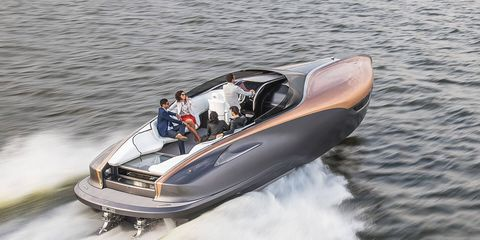 Lexus plans to launch a yacht as part of its transition to a lifestyle brand.