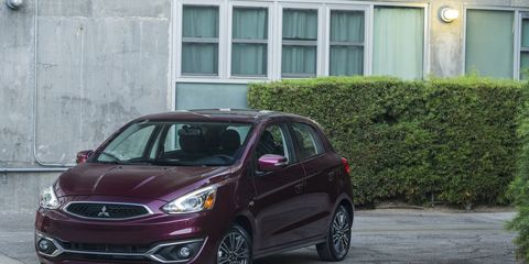 The 2017 Mitsubishi Mirage debuted at this year's Los Angeles Auto Show. Look at the future best-selling Mitsubishi.