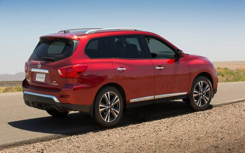 Check out the redesigned 2017 Nissan Pathfinder.