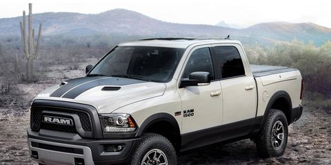 The Ram 1500 Rebel Mojave Sand is one of two special-edition trucks Ram will offer in 2017.