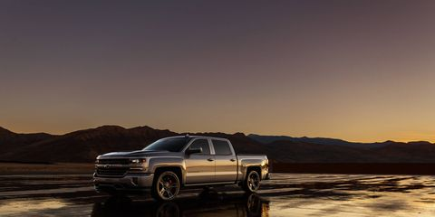 The folks at Chevy slapped a supercharger like the ones found on its Z06 Corvette and ZL1 Camaro onto a 5.3-liter-powered Silverado.