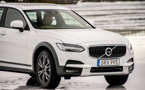 The V90 Cross Country returns Volvo to its big wagon roots, with an all-wheel drive system and some extra ground clearance.