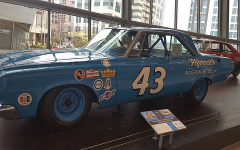 "With 200 wins, NASCAR Hall of Famer Richard Petty is the undisputed ""King of NASCAR."" He started his career in 1958, but 1964 was his breakout year. Petty captured his first of seven Daytona 500 victories and first of seven championships in his HEMI-powered Plymouth tuned by brother Maurice Petty and crewed by cousin Dale Inman, both NASCAR Hall of Famers. This breakout season set the tone for Petty dominance in the decades to come."