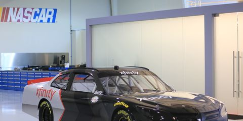 The NASCAR Xfinity Series will debut a new composite body next weekend at Richmond Raceway.