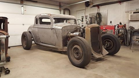 This 1933 Plymouth followed John home from a friend's house simply because he wanted to own a coupe.
