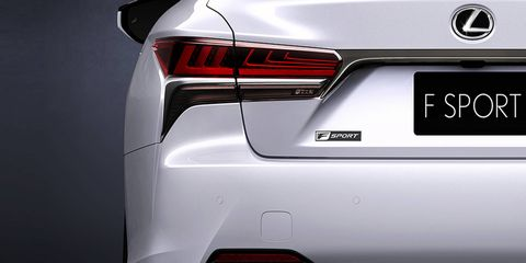 Expect the 2018 Lexus LS 500 F Sport to have revised exterior and interior styling.