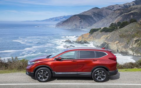 The redesigned 2017 Honda CR-V crossover is now available with a turbocharged engine and quieter interior.