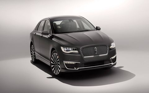 The split swept-bar grille is replaced by a more subdued rectangular grille, and bigger headlights make the front fascia look more mature.