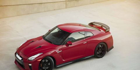 The 2017 Nissan GT-R Track Edition still has 565 hp and 467 lb-ft of torque.