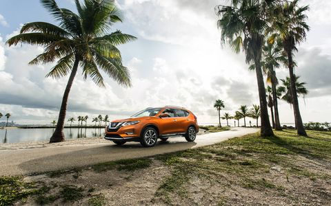 The 2017 Nissan Rogue was unveiled at the 2016 Miami auto show.