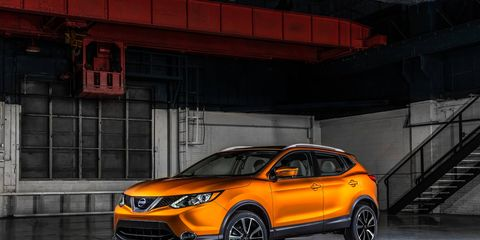 New for 2017, the Nissan Rogue Sport is a slightly scaled-down Nissan Rogue.