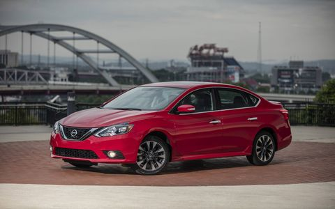 The 2017 Nissan Sentra SR Turbo debuted at the Miami auto show.