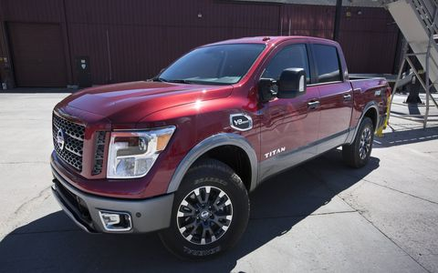 The 2017 Nissan Titan Pro-4X is a truck with some personality and ruggedness in its appearance.
