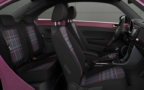 Volkswagen will build a special limited edition Beetle featuring pink paint, plaid interior and optional hashtags.