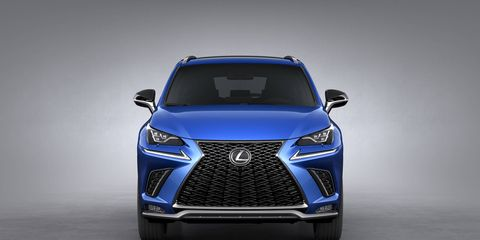 For 2018, the Lexus NX200t becomes the NX300.