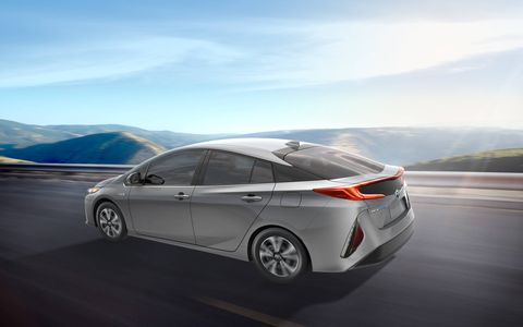 A gallery for the 2017 Toyota Prius Prime that will debut at the New York auto show.