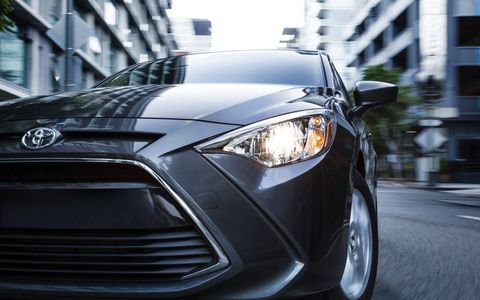 The Yaris comes with a 1.5-liter engine making 106 horsepower and the choice of six-speed manual or six-speed automatic transmission.