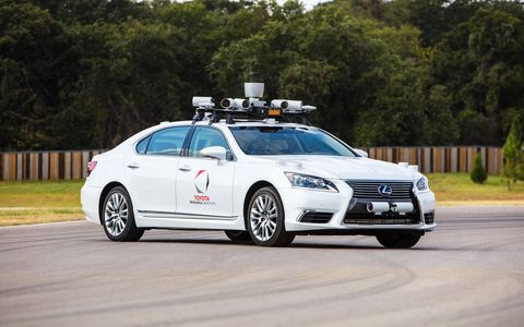 Toyota Research Institute is charging forward in the autonomous technology field.