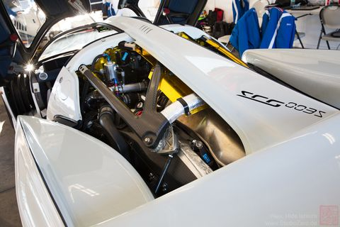 See the 2018 SCG 003s and all of its exposed, barely legal, basically a GT3 car, detail