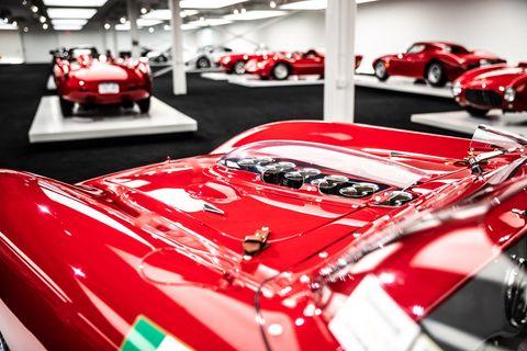 Lauren's 1961 Ferrari 250 TRI61.
