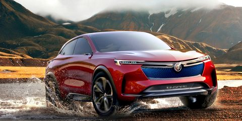 The Buick Enspire Concept debuted at the Beijing auto show earlier this year.