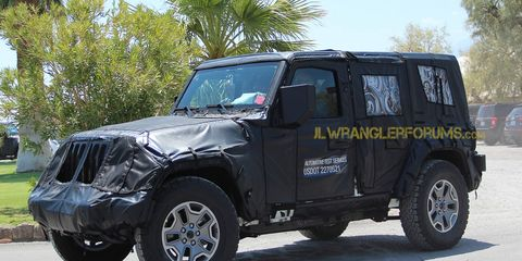 Jeep understands that Wrangler buyers don't want a huge change in the status quo when it comes to its off-road monster.