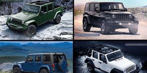 We'll probably see the new Jeep Wrangler at the Detroit auto show.