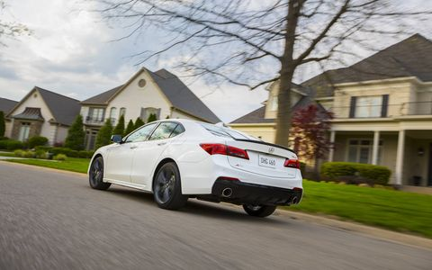 The 2018 TLX boasts a more aggressive and sporty look inspired by the Acura Precision Concept that debuted last year, a design direction that has successfully influenced the styling of the 2017 MDX luxury SUV.
