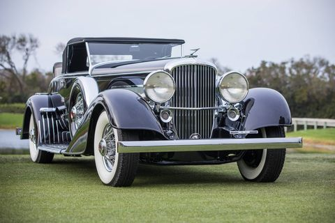 A 1963 Ferrari 250/275P and 1929 Duesenberg J/SJ Convertible won at this year's Amelia Island Concours.