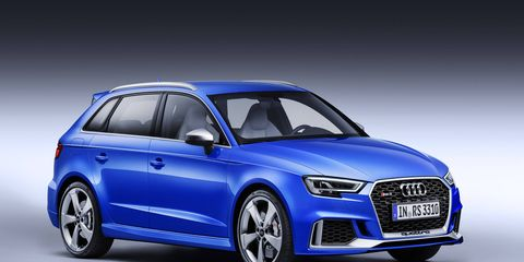 Audi brought the RS 3 Sportback to the Geneva motor show this week