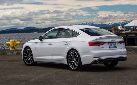 The S5 Sportback offers an extra helping of horsepower along with the versatility of the four-door coupe design.
