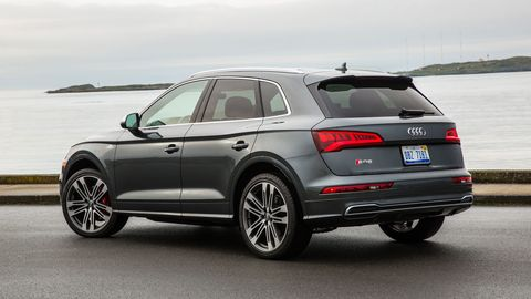 The 2018 Audi SQ5 comes with a 354 hp turbocharged V6.