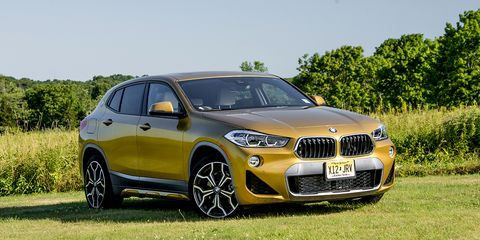 The X2 offers a new crossover option in BMW's lineup, positioning itself as a roomy hatchback with some soft-road ability.