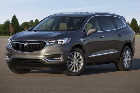 The 2018 Buick Enclave comes with a 3.6-liter V6 making 310 hp.