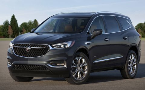 The 2018 Buick Enclave Avenir shares chassis architecture with the new Chevy Traverse and has a 302-hp, 3.6-liter V6 under the hood.
