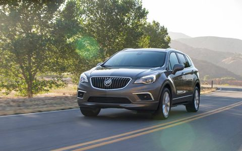 Buick is freshening the 2019 Buick Envision to better align the crossover with the brand's other models -- most notably its best-selling Encore.