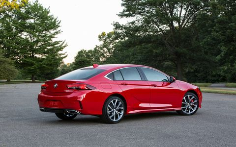 The 2018 Buick Regal GS adds some performance prowess to the new Regal.