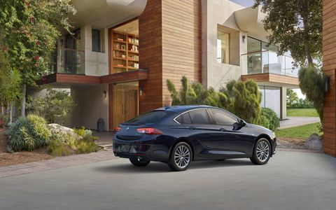 A 2.0-liter turbocharged engine will power both the Regal Sportback and TourX.