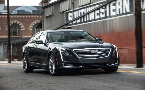 The Cadillac CT6 offers either a 2.0-liter turbo four, a 3.6-liter V6 or a 3.0-liter twin-turbocharged V6.