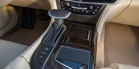 The 2018 Cadillac CT6 Platinum is available with Super Cruise driver assist.