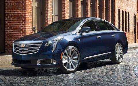 A lot of the styling cues are taken from the newer Cadillac CT6.