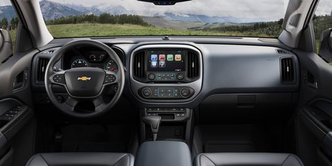 The 2018 Chevy Colorado is offered five trims: base, WT, LT, Z71 and ZR2.