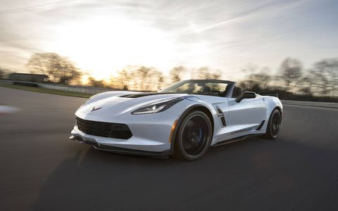 The 2018 Chevrolet Corvette Carbon 65 will be available this summer.