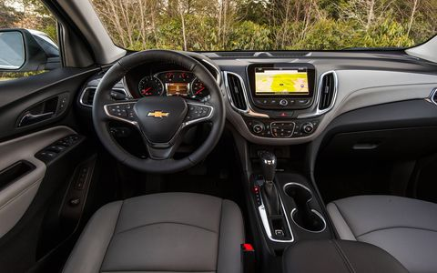 The 2018 Chevrolet Equinox is offered in L, LS, LT (1LT/1.5-liter, 2LT/2.0-liter and 3LT/1.6-liter diesel) and Premier (1LZ/1.5-liter, 2LZ/2.0-liter and 3LZ/1.6-liter diesel) trims, with AWD available on LS models and above.