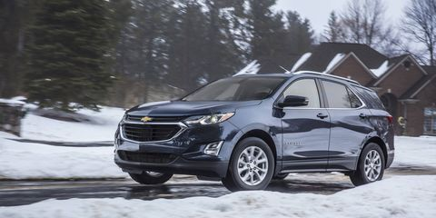 The 2018 Chevy Equinox Diesel has a 1.6-liter turbocharged I4 putting out 137 hp and 240 lb-ft of torque.